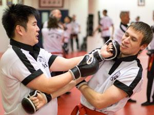 San Sau Wing Chun Sparren