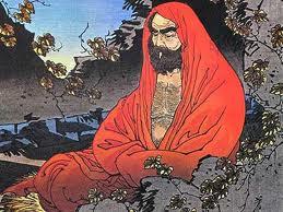 Bodhidharma - verre voorvader van het Wing Chun Kung Fu